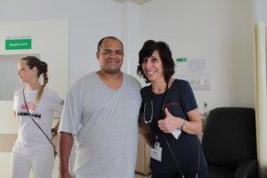 Ant-nio Marcos dos Santos e Dr. Vicky Brander.